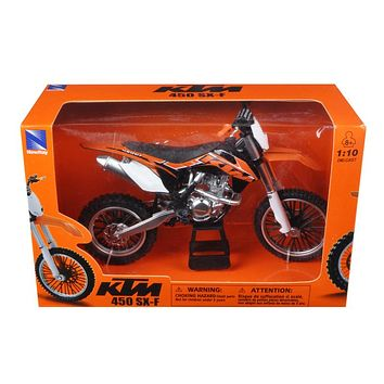 KTM 450 SX-F Diecast Motorcycle Model 1:10 by New Ray