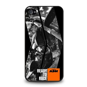 KTM READY TO RACE 2 iPhone 4 / 4S Case