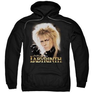 Labyrinth - Jareth Adult Pull Over Hoodie Officially Licensed Apparel
