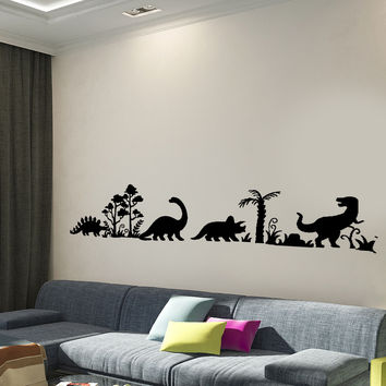 Wall Decal Dinosaur Dino Animals Interior Decor z3998