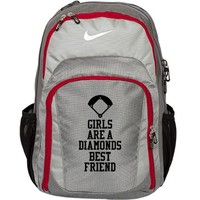 Softball Girl's Nike Bag: This Mom Means Business