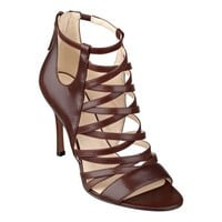 Nine West: Funkfresh Leather Open Toe Heels