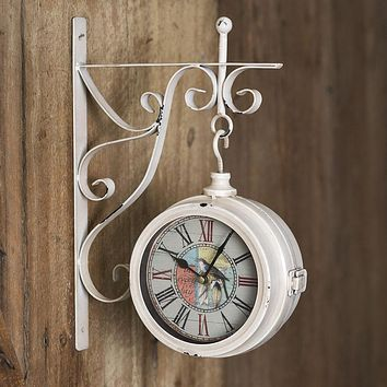 Joy In Every Day Wall Pendant Clock