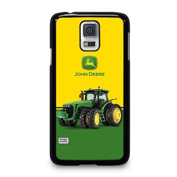 JOHN DEERE WITH TRACTOR Samsung Galaxy S5 Case Cover