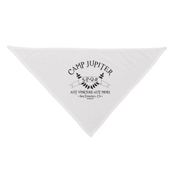 Camp Jupiter - SPQR Banner Dog Bandana 26 by TooLoud