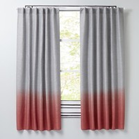 Half Dipped Curtain Panels (Pink)
