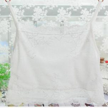 new arrival female 100% pure silk  tube tops silk plus size knitted lace wrapped chest underwear around the chest pad-b09