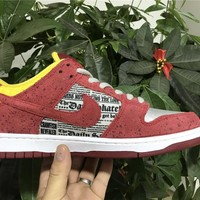"Nike SB Dunk Low PREM ""Crayfish"" 504750-660 Size 36---45"