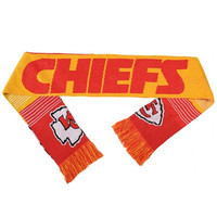 Kansas City Chiefs Reversible Split Logo Scarf