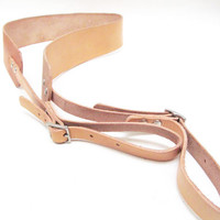 Cicada Leather Company — Leather Camera Strap - Neck Sling - Made in USA