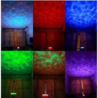 DUSIEC Ocean Relax Projector Pot Music Input, ocean Light, ocean Lamp, music Projection - Amazon.com