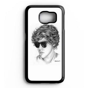 One Direction Harry Styles Art Pencil Samsung Galaxy S6 Case