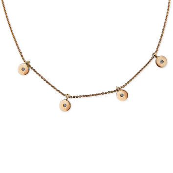 4 DISC NECKLACE