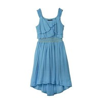 IZ Amy Byer Ruffled Hi-Low Gauze Sundress - Girls 7-16