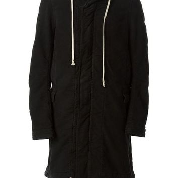 DCCKIN3 Rick Owens DRKSHDW oversized hooded coat