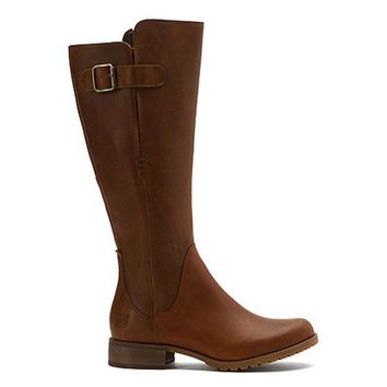 CREYONIG Timberland Earthkeepers Banfield - Waterproof Brown Leather Tall Boot