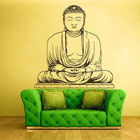 Wall Decal Vinyl Sticker Decals Buddha Indian Om Hamsa (z1347)