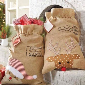 Santa Sacks and Reindeer Sacks