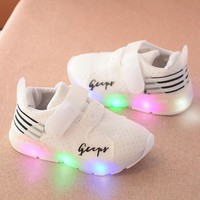 Sport Running Baby Shoes LED