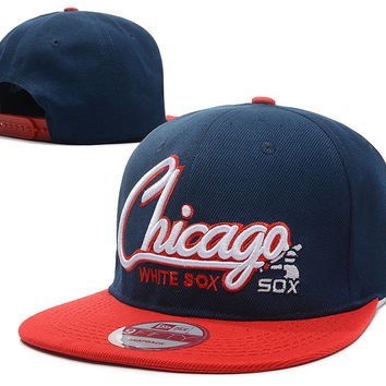 Chicago White Sox Baseball Caps Men's Adjustable Sports Snapback