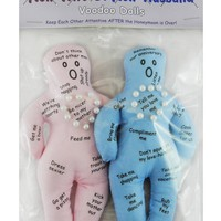 New Wife New Husband Wedding Voodoo Doll Gift