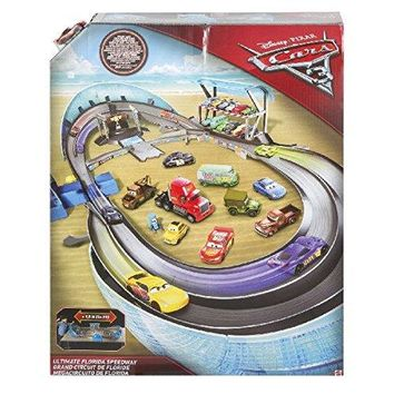 Disney Pixar Cars 3 Ultimate Florida Speedway Track Set Playset