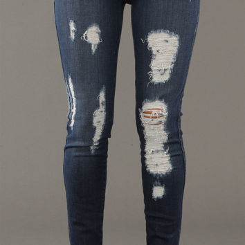 Siwy Denim Hannah Slim Crop Jeans in Bluestorm