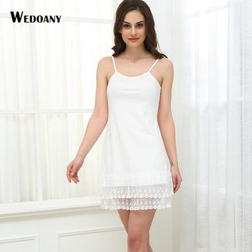 2017 Summer Dress Spaghetti Strap Maternity Nightwear 3XL 4XL Large size Lace Vestidos Mori Girl Women Sexy Lolita Tunic