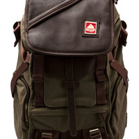 Jansport Skip Yowell Collection Pleasanton Backpack in Army
