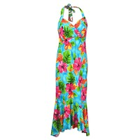 hoopla blue hawaiian akua dress