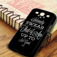 Harry Potter Swear Typography Art Samsung Galaxy S3 Case