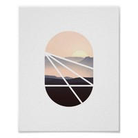 Pink Sky | Abstract Photo Poster