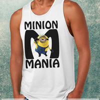 Minion Mania Clothing Tank Top For Mens