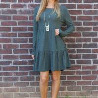 olive everything about you dress