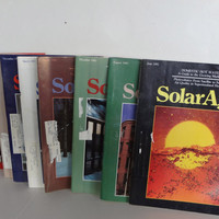 Solar Age Magazines  Lot Of 9 From 1980s Used Light Wear Vintage