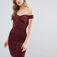 New Look Bardot Body-Conscious Dress at asos.com