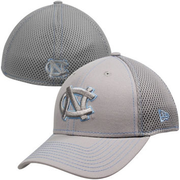 New Era North Carolina Tar Heels :UNC: 39THIRTY Neo Stretch Fit Hat - Gray