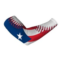 Puerto Rico Baseball Lace Compression Arm Sleeve -L/XL