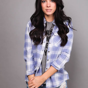 Flannel Frenzy Button Up