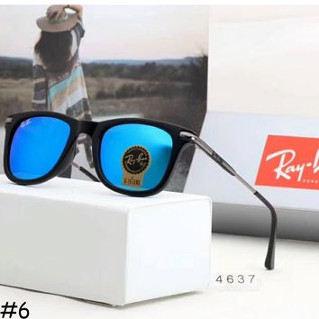 Rayban 2018 men and women with the same paragraph leisure sunglasses F-A-SDYJ #6