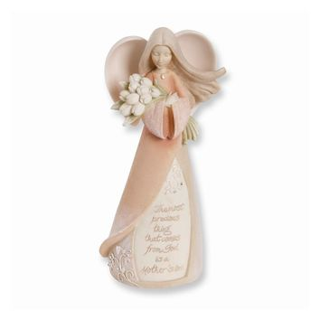 Foundations Mother Angel Figurine - Perfect Mother Gift