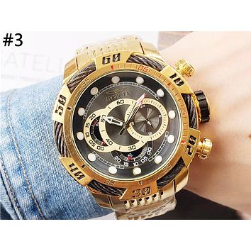 INVICTA Tide brand men and women models high-grade waterproof quartz watch #3