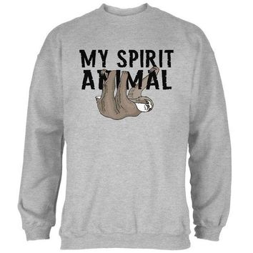 DCCKJY1 Sloth My Spirit Animal Mens Sweatshirt