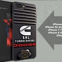 Dodge C Turbo Diesel Engine Best Case For iPhone 6 6+ 6s 6s+ 7 7+ 8 8+ X Cover