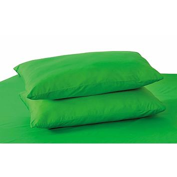 Tache Dark Green Cotton Pillowcase (10012DG)