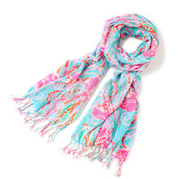 Murfee Scarf - Jellies Be Jammin' - Lilly Pulitzer