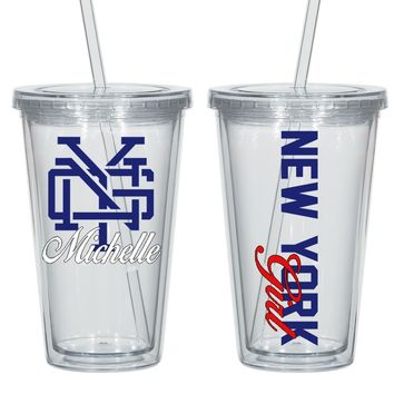 N.Y.G Personalized Acrylic Cup - Perfect Gift - Free Shipping