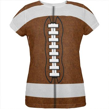 Football Costume All Over Womens T Shirt