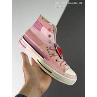 Mille Bobby Brown x Converse cheap mens and womens Fashion Canvas Flats Sneakers Sport Shoes