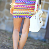 Born To Be Bright Skirt: Multi   Hope's
